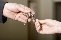 Schlüsselübergabe Vermietung